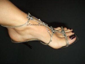 leccare piedi
